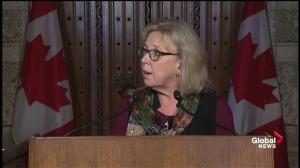 Elizabeth May outlines her step-by-step carbon reduction plan